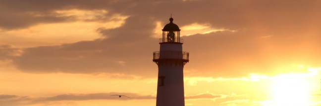 SSI Lighthouse at Sunrise