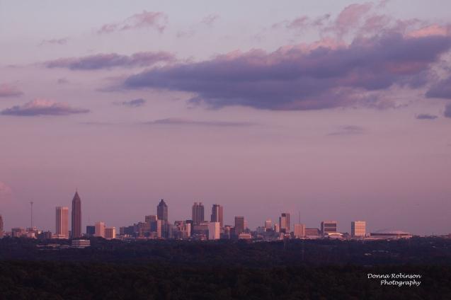 IMG_3192 Pink Sunset over Atlanta copyright