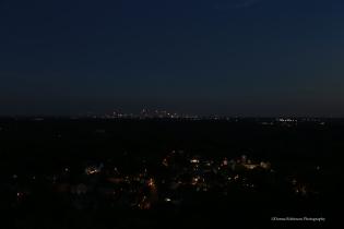 Atlanta Skyline at Dusk Settings: AV f5.6; TV 1/8 sec; ISO 640 focal length 32mm