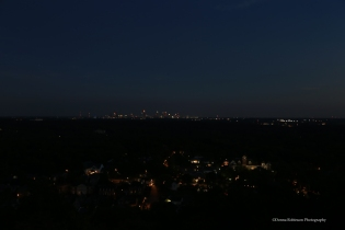 Atlanta Skyline at Dusk Settings: AV f5.6; TV 1/8 sec; ISO 640 focal length 32mm