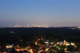 Atlanta Skyline at Dusk Settings: AV f/11; TV 10 sec.; ISO 640; focal length 55mm
