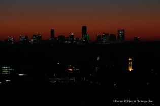 Buckhead, Atlanta Sunrise Settings: AV f/7.1; TV .6, ISO 250; Focal length 220mm