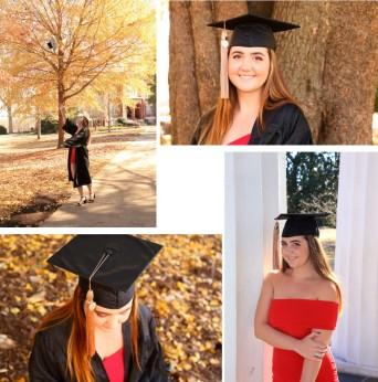 Lindsey UGA College Grad